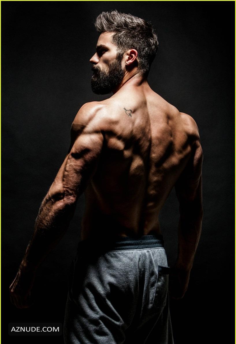 Nude Male Model Photoshoot