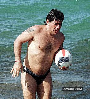 Pity, diego maradona nude apologise, but