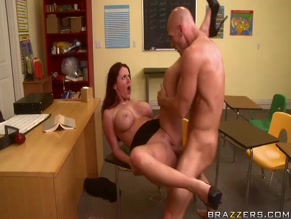 SOPHIE DEE NUDE/SEXY SCENE IN DAYDREAMING IN THE CLASSROOM