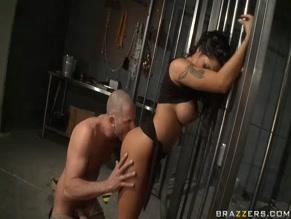 Rescuing a horny pornstar