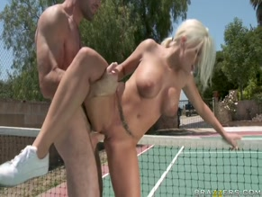 BRITNEY AMBER in THE NIPPLEDON OPEN(2011)