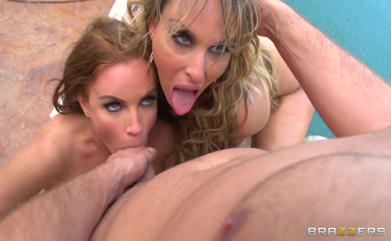 Two Milfs One Cock