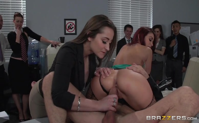 Monique Alexander in The Whore Of Wall Street Ep-2: The Anal Office Queen