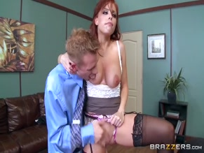BRITNEY AMBER in THE BOSS'S BUTT(2015)