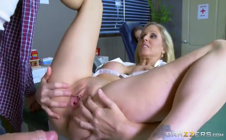 Julia Ann in Hot Nurse Gets The Cock Pumpin'