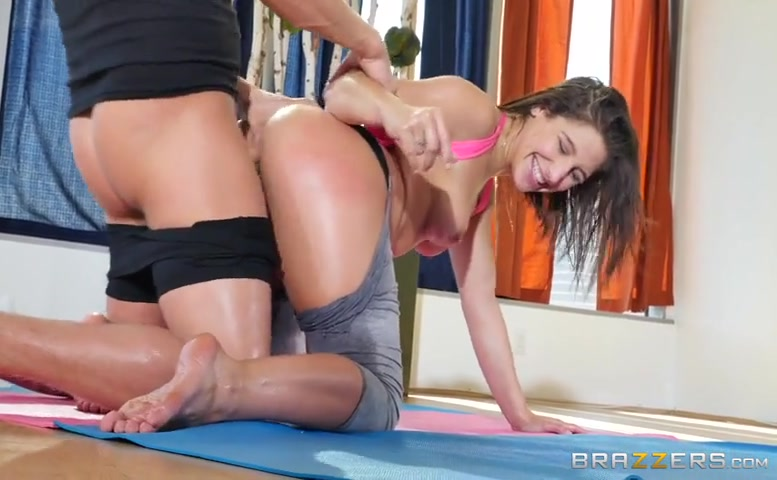 Abella Danger in Yoga Freaks: Episode One